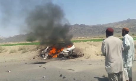Pakistan says US drone strike that killed Taliban leader violated its sovereignty