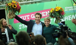 Ludwig Hartmann and Katharina Schulze of the German Greens