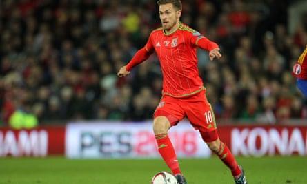 Aaron Ramsey, Wales v Andorra