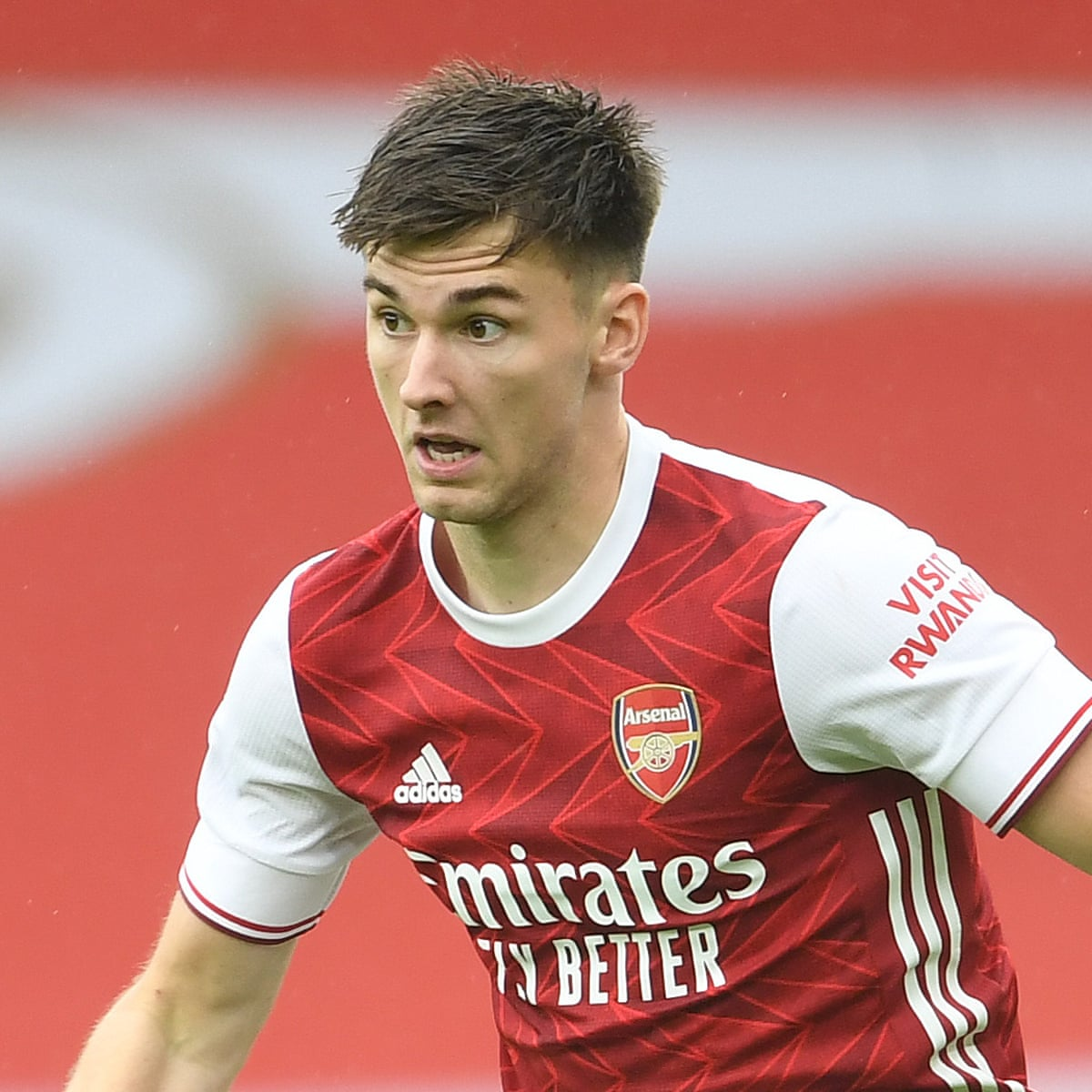 The 24-year old son of father (?) and mother(?) Kieran Tierney in 2021 photo. Kieran Tierney earned a 3.5 million dollar salary - leaving the net worth at  million in 2021