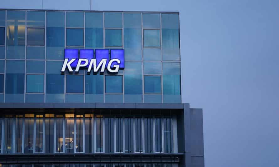 KPMG offices in Berlin, Germany.