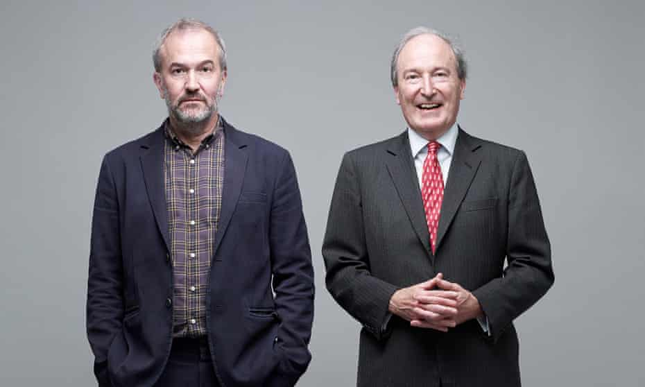 Rowan and Charles Moore photographed by Suki Dhanda for the Observer New Review.