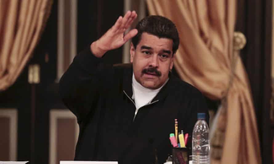 Nicolas Maduro has said the loss was 'circumstantial'.