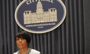 Baltimore mayor Stephanie Rawlings-Blake Sheila Dixon Nick Mosby
