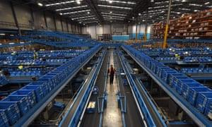 Argos distribution centre in Burton-upon-Trent