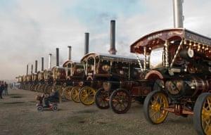 Great Dorset steam fair, southern England, 2013
