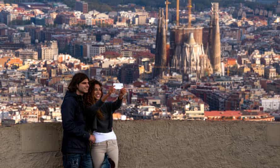 Barcelona is a popular city break destination