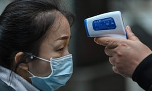 Woman in mask tested