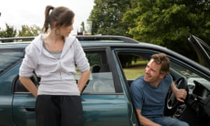 Katie Jarvis and Michael Fassbender in Fish Tank.