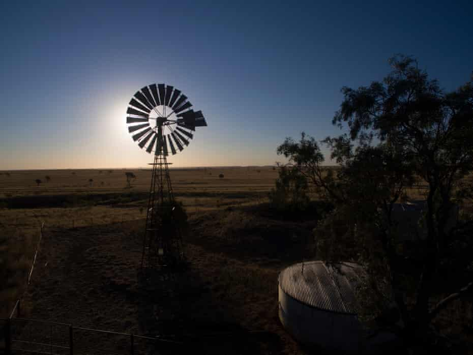 Drought affected land near Tambo, Queensland.