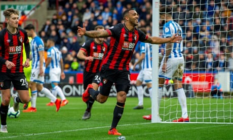 Callum Wilson strikes for Bournemouth to add to Huddersfield's woes