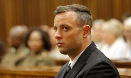 Abusive men - Oscar Pistorius in court in Pretoria
