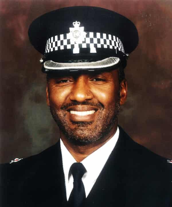 Superintendent Logan in uniform