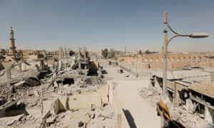 Raqqa, Syria, one of Isis's centres of power