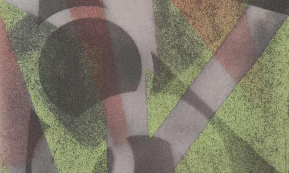 Mustapha Azeroual, sans titre #0005, série ACTIN, 2019, courtesy Galerie Binome pièce unique – 40x30 cm tirage gomme bichromatée polychrome multi-couches encadrement aluminium, verre antireflet from Unseen Amsterdam 2019
