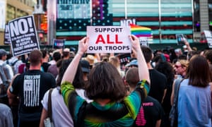 Donald Trump announced the ban on transgender troops on Twitter in July.