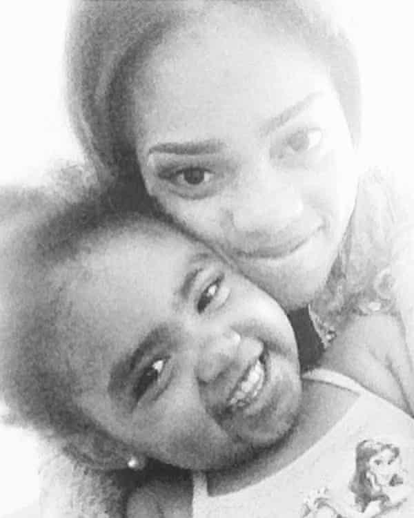 Secoriea Turner, eight, was killed near a Wendy's in Atlanta.