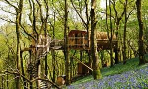 kip hideaways treehouse snowdonia