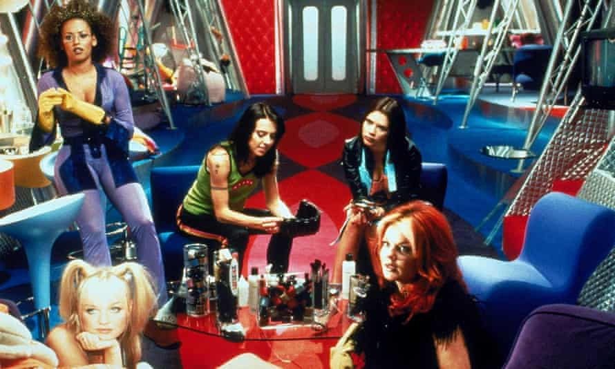 Knocking the Bechdel test out of the park … Spice World: The Movie.
