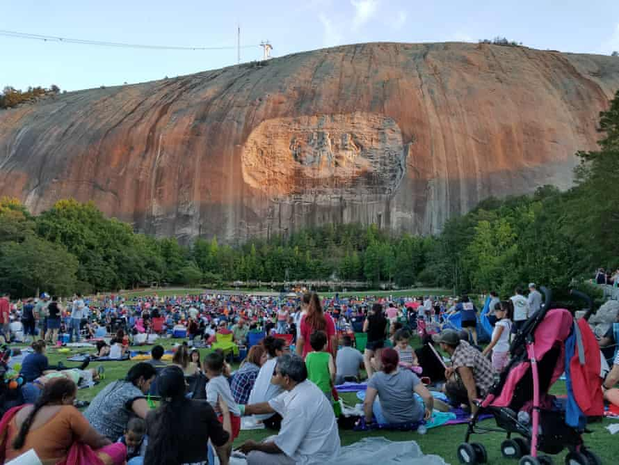 Some readers worried that the Stone Mountain monument damages Atlanta's liberal reputation.