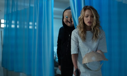 Jessica Rothe in Happy Death Day 2U, the sequel to the original