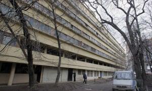 Moisei Ginzburg' s Narkomfin building