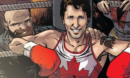 Justin Trudeau Marvel