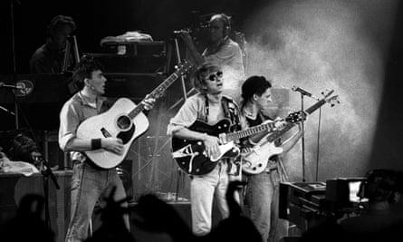 Talk Talk performing in Rotterdam, 21 September 1984.