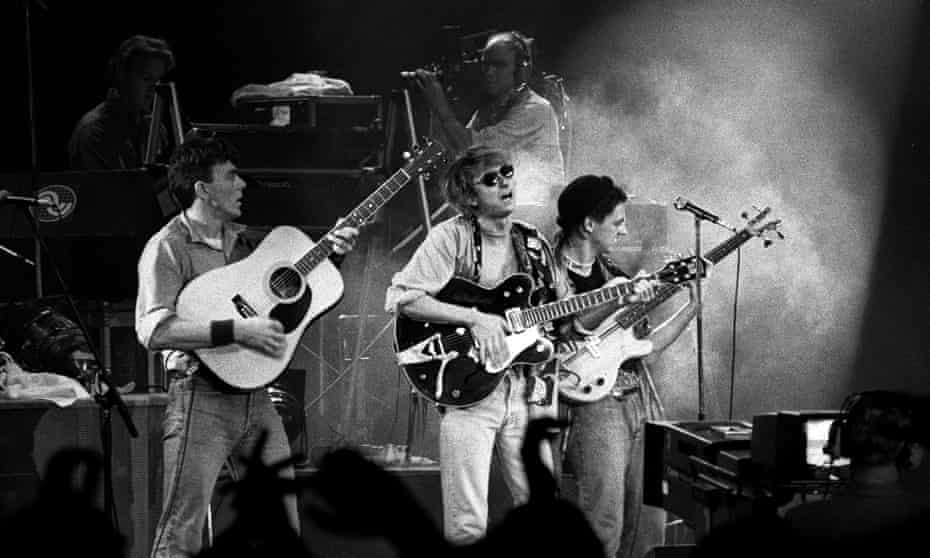 Talk Talk performing in Rotterdam, 21 September 1984.