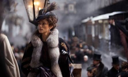 Keira Knightley in Anna Karenina, the 2012 film based on Tolstoy's novel.