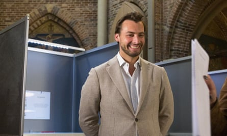 Thierry Baudet, leader of the Dutch populist party Forum for Democracy