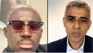 Edward Enninful and Sadiq Khan in conversation