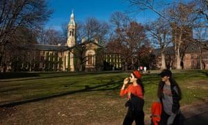 Princeton campus, New Jersey.