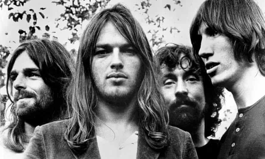 Pink Floyd in 1973.