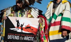 'The Arctic refuge is not just a piece of land with oil underneath. It's the heart of our people; our food security, way of life and very survival depends on its protection.'
