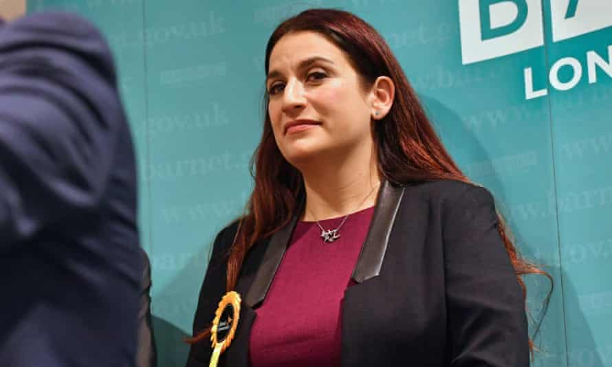 Former Labour MP Luciana Berger fell short for the Lib Dems at the election in Finchley and Golders Green.
