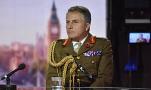 BBC handout photo of Chief of Defence Staff General Sir Nick Carter.