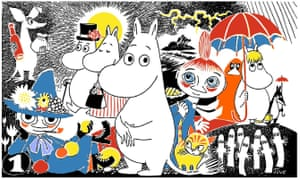 Tove Jansson was inspired by the scenery of her youth in creating Moominvalley.