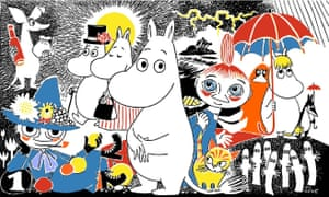 Wise wanderers … a drawing by Tove Jansson.