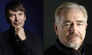 Ian Rankin and actor Brian Cox