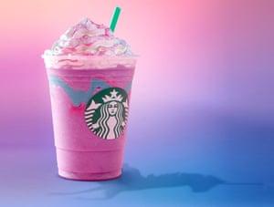 Starbucks' Unicorn Frappuccino ... just a jumped-up milkshake?