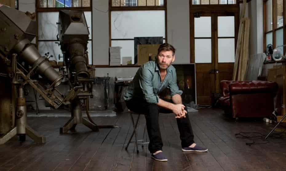 Mat Collishaw in his south London studio.