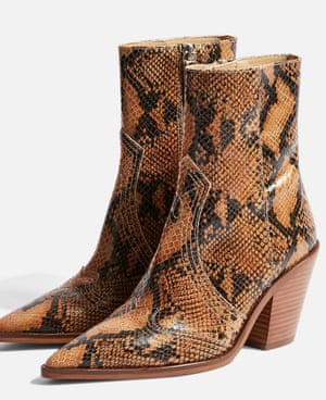 Topshop's Howdie cowgirl-inspired boots.