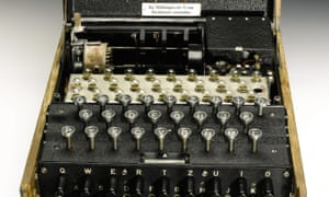 Enigma machine goes up for auction | World news | The Guardian