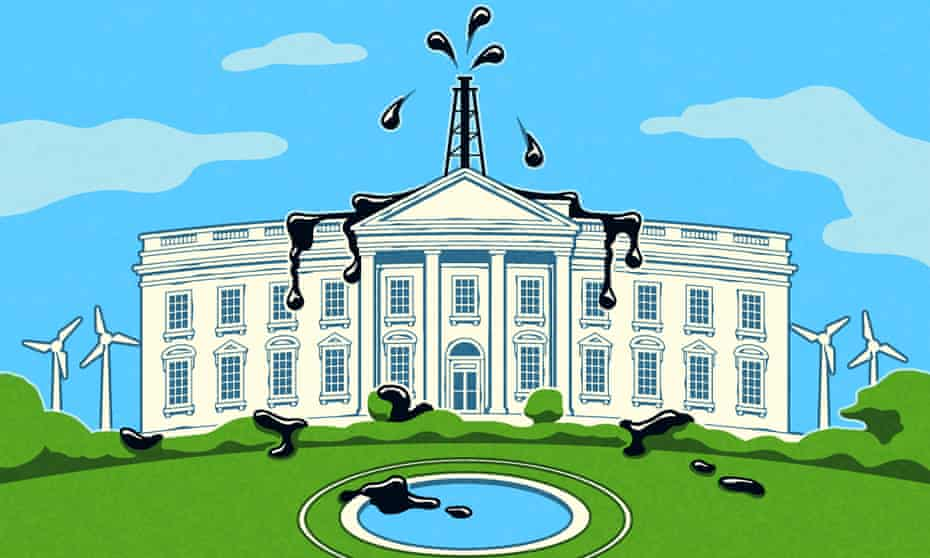 White House Oil Hypocrisy