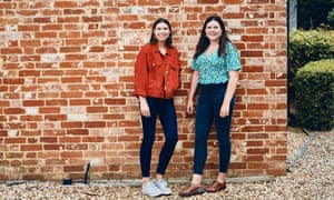 Portrait of Cicely Blandford and Phoebe Blandford for The Guardian