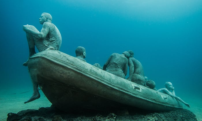 Drowned world: welcome to Europe's first undersea sculpture museum