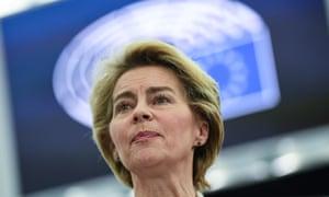 Ursula von der Leyen, the European commission president