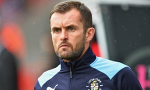 The Luton manager Nathan Jones