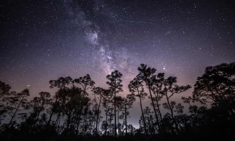 Eta Aquarids meteor shower, Florida 2020